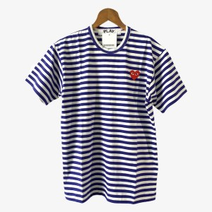 "PLAY Comme des Garcons ""Striped BW"" t-shirt - dot made"
