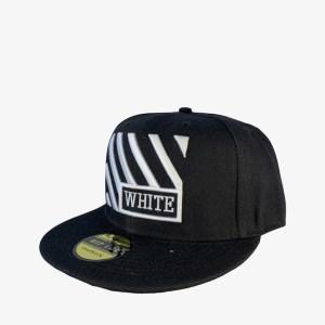 Off-White Rails black snapback cap - dot made