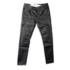 REPLAY Pure black 2 wax 1981 denim jeans - dot made
