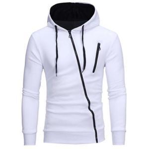 Men's Masculino white hoodie