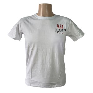 DSL Security white t-shirt