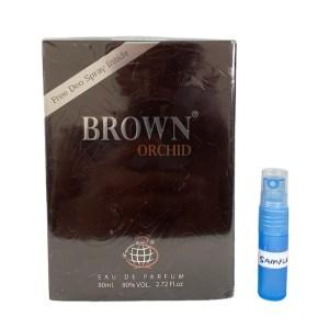 Brown Orchid perfume 5ml sample