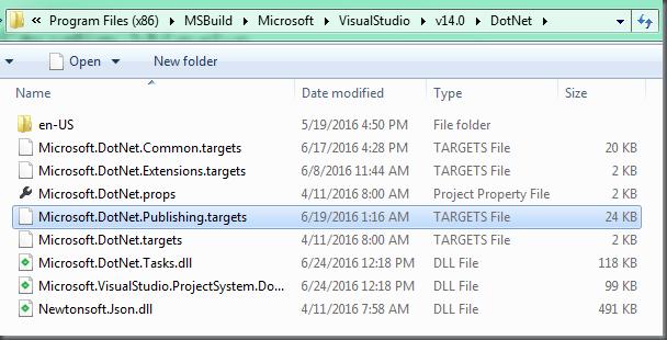 WebDeploy Packaging with ASP NET Core – DOTNET CATCH – Blogging  NET