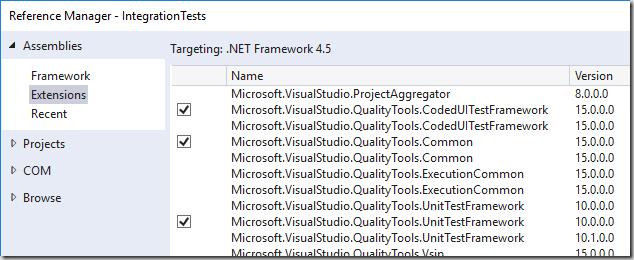 Upgrading CodedUI tests for VS2017 – DOTNET CATCH – Blogging  NET