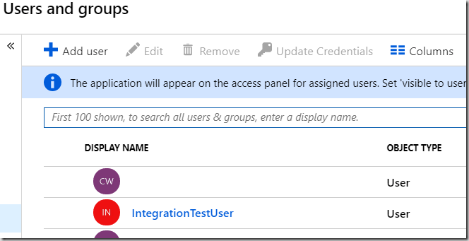 Integration Testing ASP NET Core 2 1 with AzureAD