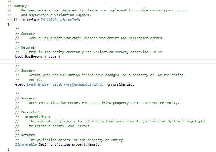 WPF validation using INotifyDataErrorInfo • Dot Net For All