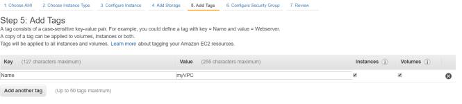 aws EC2 configuration for web development