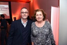 Sergio Vega gerente comercial de FCM Travel; María Teresa Misleh, Blanco viajes.