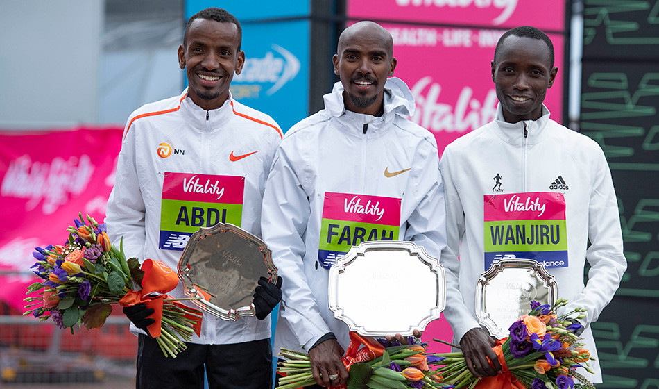 Britain's Mo Farah secured another Big Half title