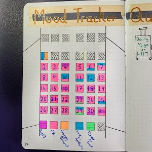 Mood Tracker July 2020 In Review