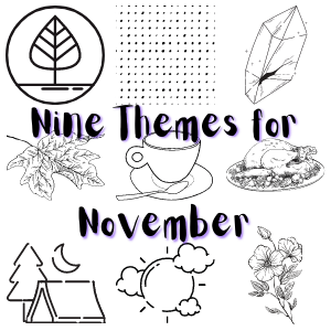 November Bullet Journal Theme Ideas