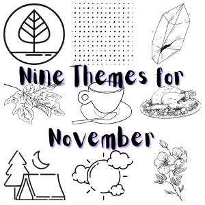 November Bullet Journal Theme Ideas