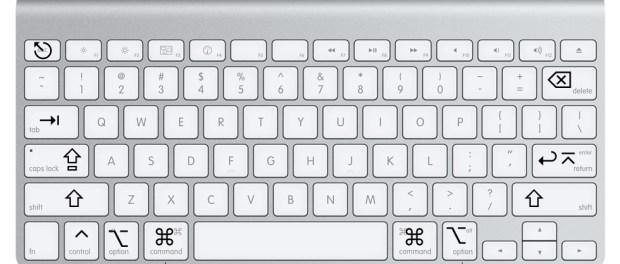 Combinazioni di tasti per l'avvio di computer Mac