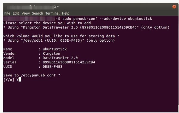 usare chiavetta usb per login windows linux