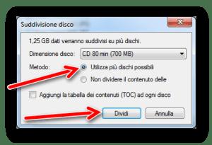 Come eseguire un backup su CD o DVD