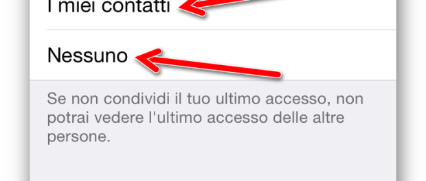 Come rendersi invisibili su Whatsapp 10