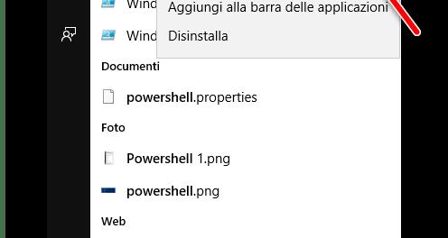 Come disinstallare le App native di Windows 10