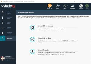 website-x5-esportazione-del-sito