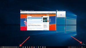 Nuovo desktop windows 10