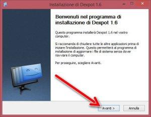 dexpot install