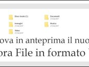 Esplora file in formato UWP
