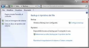 Backup Windows 7