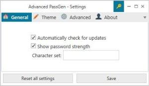 advanced passgen