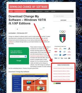 download change my software