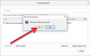 Disattivare il completamento automatico di Firefox