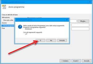 Programmare lo spegnimento automatico del PC