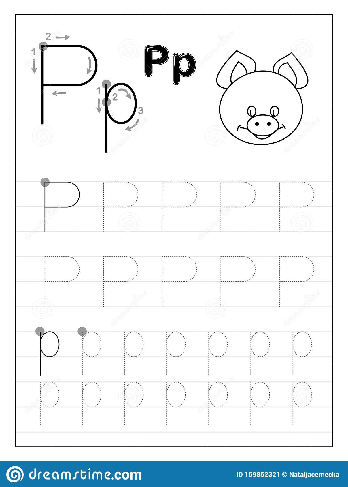 Preschool Tracing Letter Worksheets Download