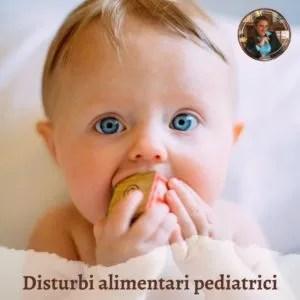 disturbi alimentari pediatrici
