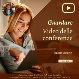 Video dott.ssa Valentina Carretta