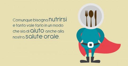 Nutrirsi per aiutare la nostra salute orale - il blog del dottormic -