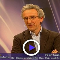 Chirurgia refrattiva in studio il professor Carlo Cagini oculista chirurgo