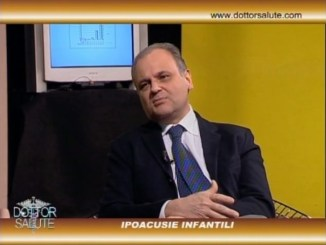 Ipoacusie infantili, a Dottor Salute il professor Gianpietro Ricci