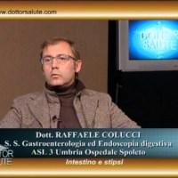 Intestino e stipsi, in studio con il dottor Raffaele Colucci