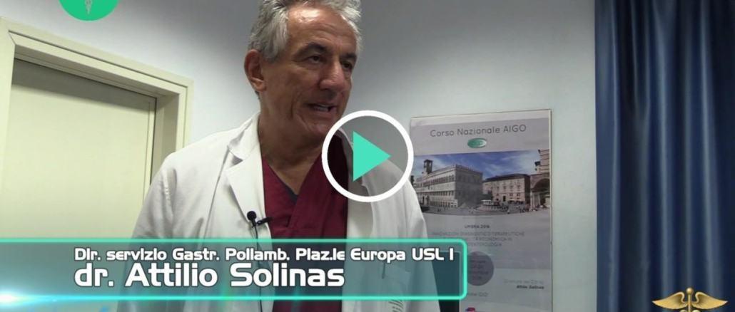 Dottor Salute a domicilio, ecografo e malattie epatiche, intervista Attilio Solinas