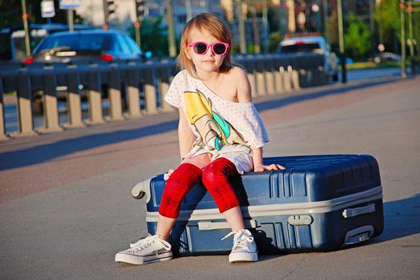 mettere il necessario in valigia