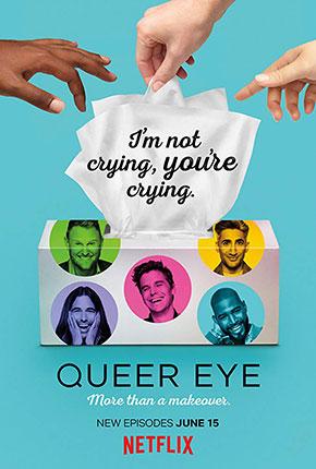 Queer Eye เควียร์ อาย ซีซั่น 3 TV Series (2018– )