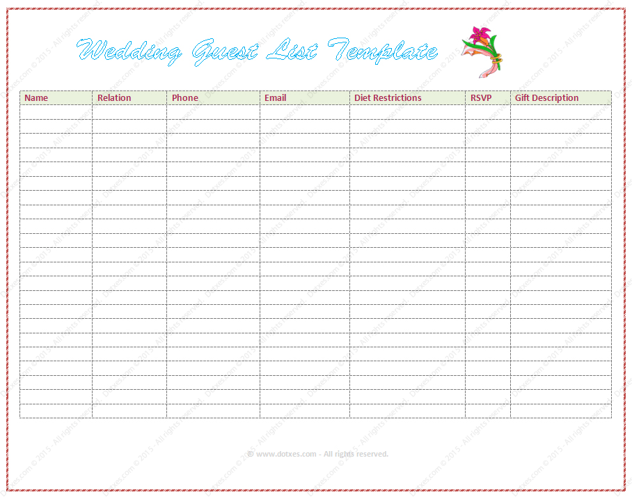 Wedding Templates For Word 1000 ideas about free wedding – Free Wedding Templates for Word