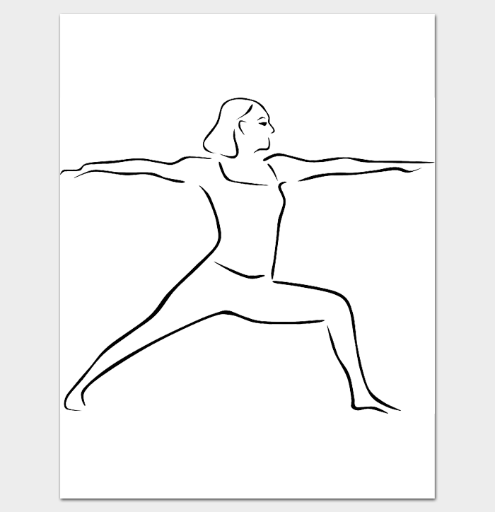 Female Body Outline Template 9 Printable Worksheets Drawings