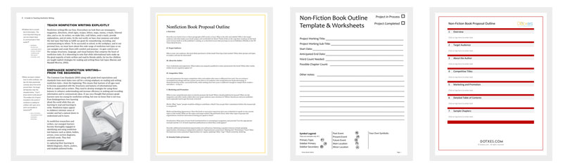 nonfiction outline example