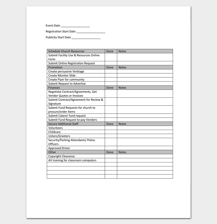 Event Planning Guide and Worksheet 1