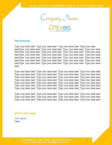 Resume Letterhead Format Of Advocate. Letterhead Template Word