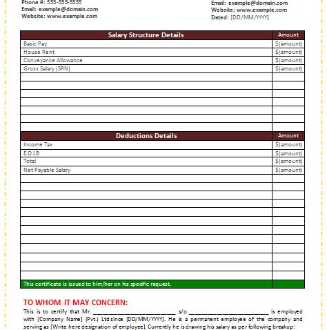 Salary-Certificate-Template-(Word)