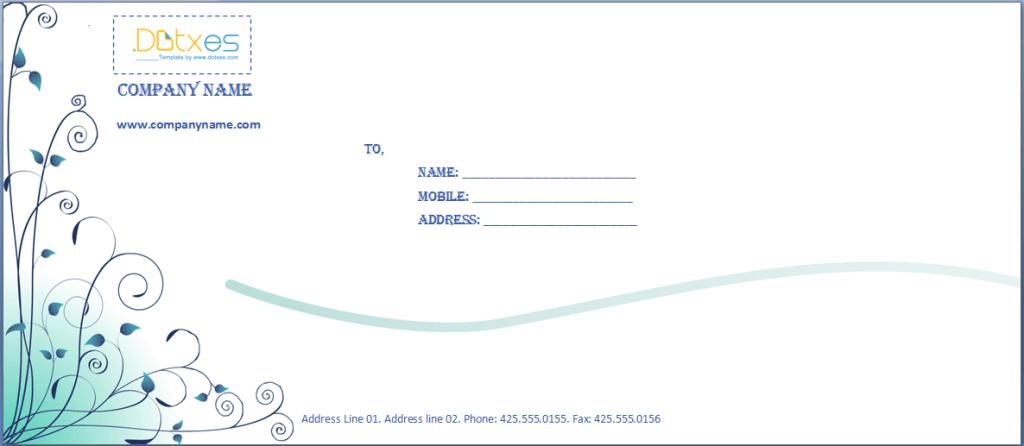 Resume Letterhead it professional cover letter sample sample and – Sample Business Envelope Template