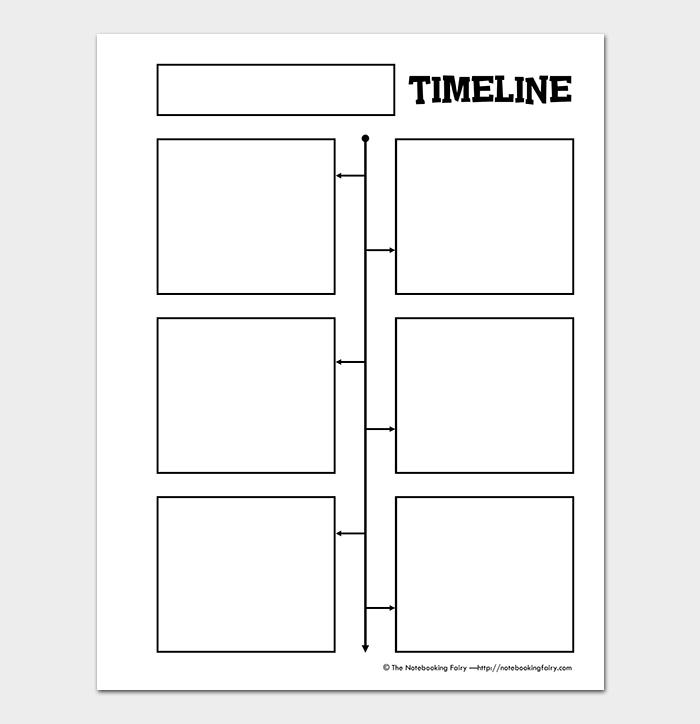 Fill In Timeline Template Sere Selphee Co