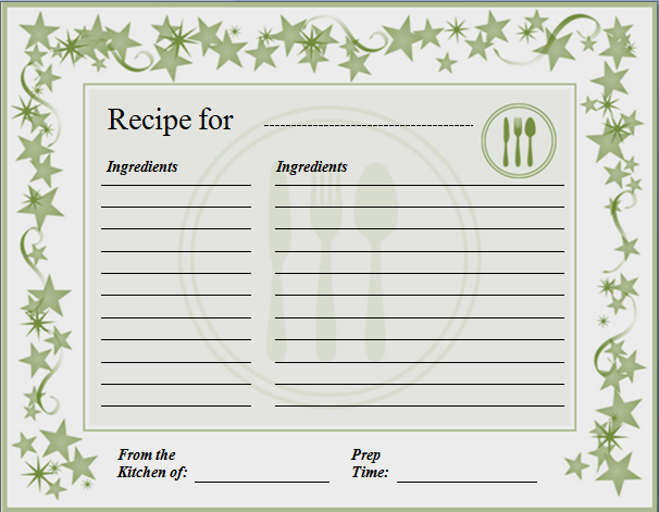 Recipe Template Microsoft Word 1000 images about recipe book on – Free Recipe Card Templates for Microsoft Word