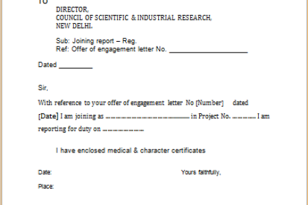 New sample joining letter format for employee fresh joining report appointment letter format pdf in hindi vgmb co up anudeshak joining letter appointment download ssc format pdf in hindi appointment letter from x pdf copy thecheapjerseys Image collections